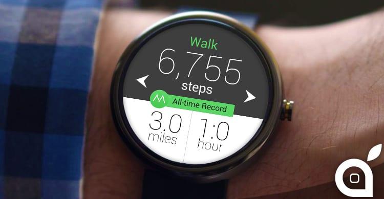 Android Wear pur essendo compatibile con iOS non condivide i dati sul fitness con HealthKit