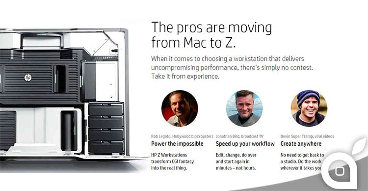 apple hp mac pro