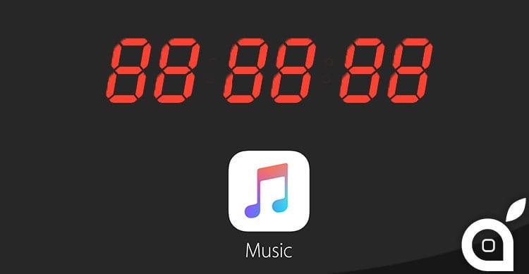apple music scadenza