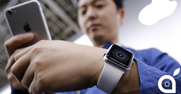 apple watch in cina