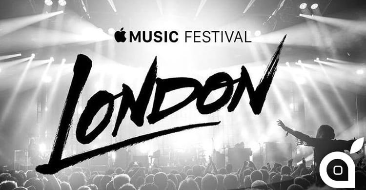 Apple annuncia nuovi artisti per l'Apple Music Festival