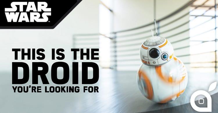 Sphero presenta BB-8, il droide di Star Wars da controllare con il proprio iPhone [Video]