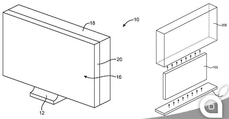 brevetto apple imac vetro