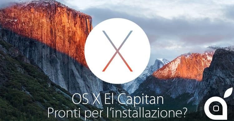 Come preparare il Mac per l'aggiornamento a OS X El Capitan