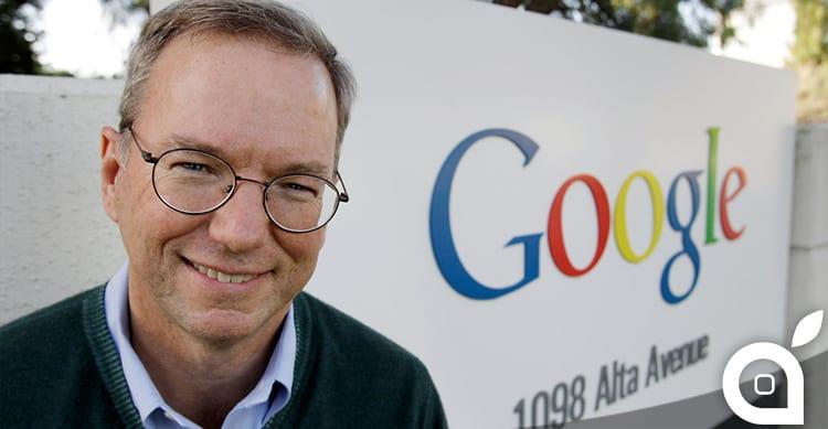 Attacco velato di Erich Schmidt di Google ad Apple Music