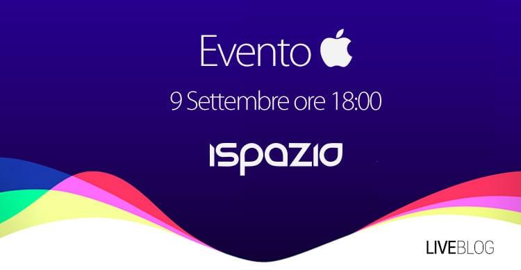 evento apple 9 settembre seguilo in diretta su ispazio