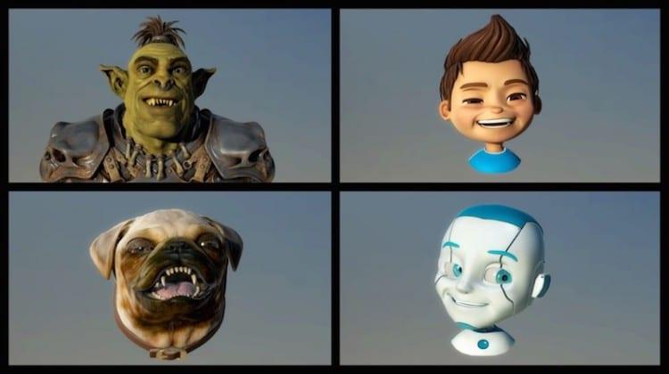 faceshift_avatars