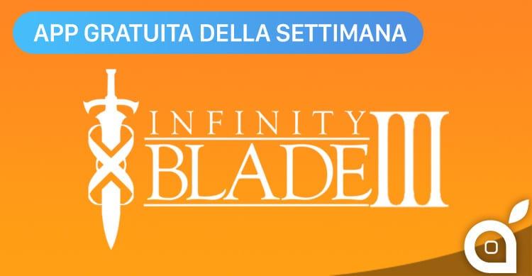 infinity blade 3 app della settimana