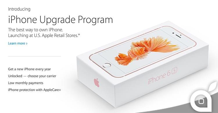 Apple lancia l'iPhone Upgrade Program che permette di avere il nuovo iPhone ogni anno