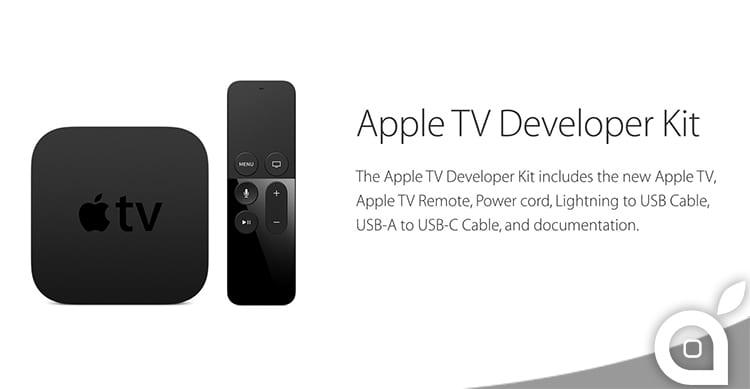 Apple rilascia gli strumenti per tvOS agli sviluppatori