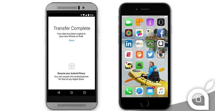 Apple sta realizzando un'applicazione per facilitare il passaggio da iOS ad Android? [AGGIORNATO]