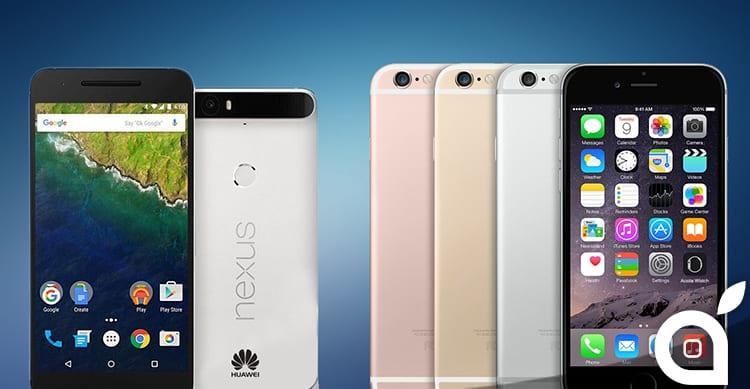 Google ha esaltato la fotocamera dei nuovi Nexus facendo un paragone con quella di iPhone 6s