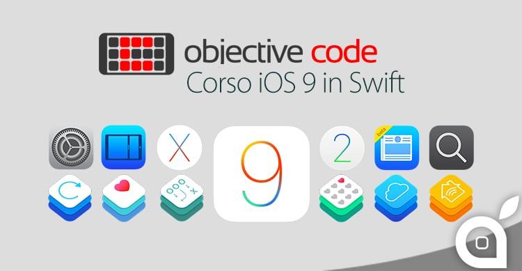 Impara a sviluppare App per la nuova Apple TV e per iOS 9 con il Corso Base di Objective Code
