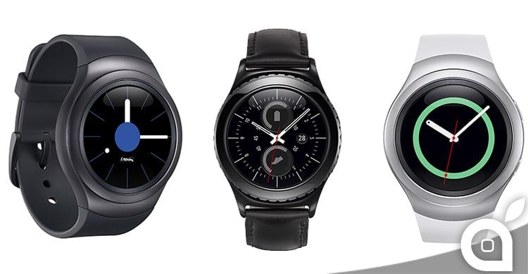 Samsung presenta i suoi nuovi smartwatch: Gear S2 e Gear S2 Classic [Video]