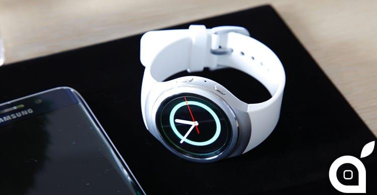 Il Samsung Gear S2 sarà il primo smartwatch dell'azienda che otterrà la compatibilità con iOS