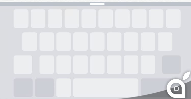 trackpad keyboard ios 9 iphone