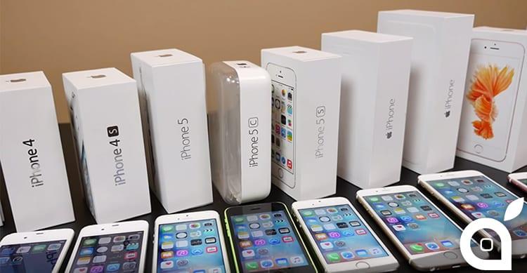 iPhone 6s messi a confronto con tutti gli altri iPhone precedenti – Speed Test [Video]