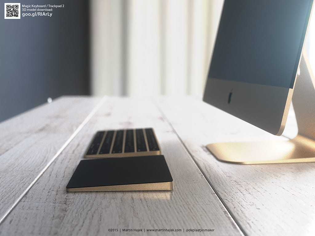 Magic Keyboard E Magic Trackpad 2 Di Apple In Versione