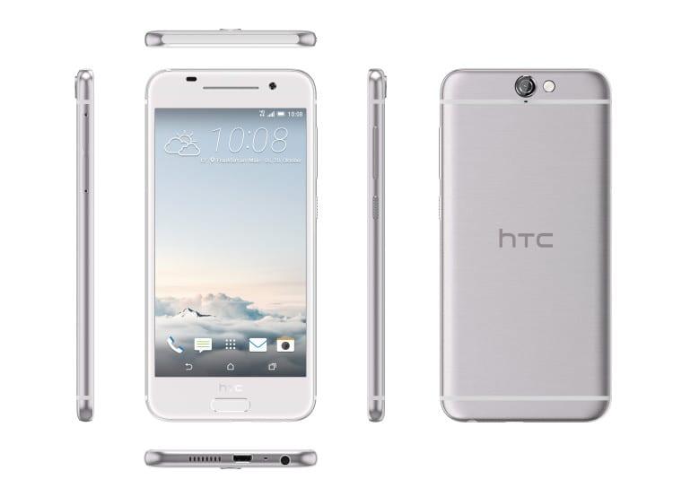 HTC One A9_Aero_6V_OpalSilver