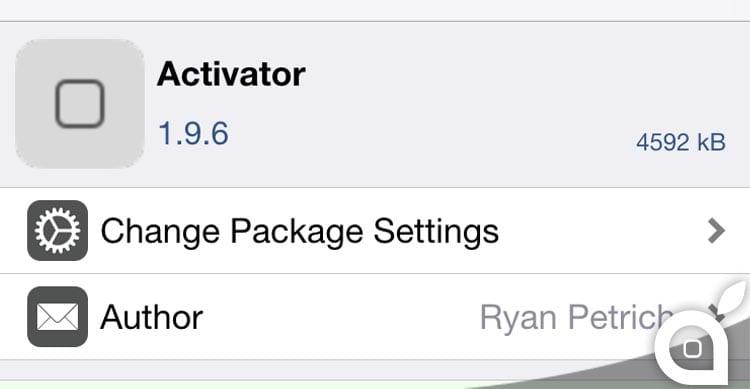 Activator si aggiorna per supportare il 3D Touch dell'iPhone 6S | Cydia