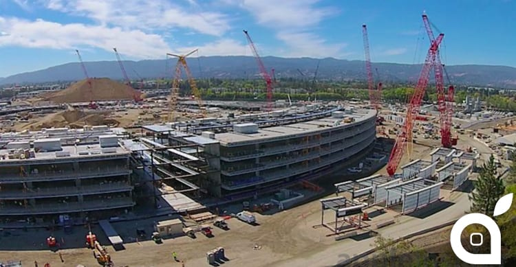 Enormi progressi nella costruzione dell'Apple Campus 2 [Video]