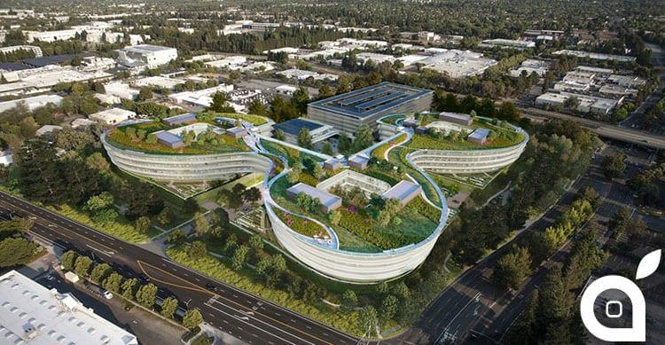 Un nuovo Campus messo in cantiere da Apple