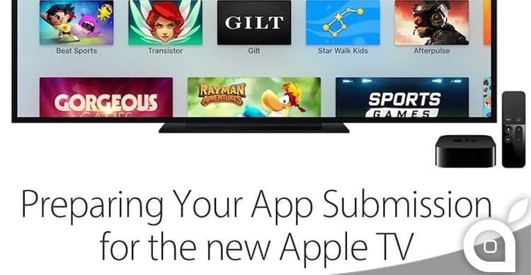 Apple invita gli sviluppatori ad inviare le applicazioni realizzate per la nuova Apple TV con tvOS
