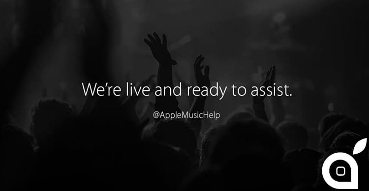 Apple lancia su Twitter un nuovo profilo di supporto per Apple Music