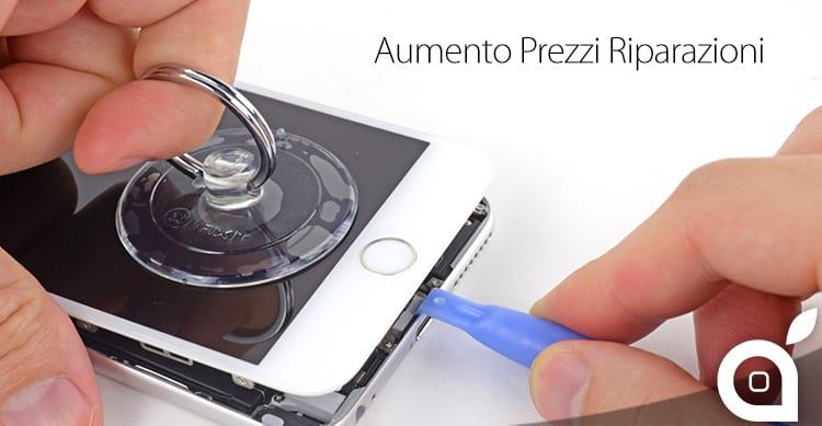 Apple aumenta i prezzi per la riparazione di iPhone fuori garanzia: Ecco quanto ci costerà adesso!