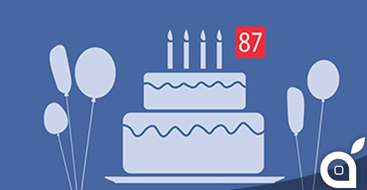 Facebook testa l'invio di video-messaggi di auguri di compleanno