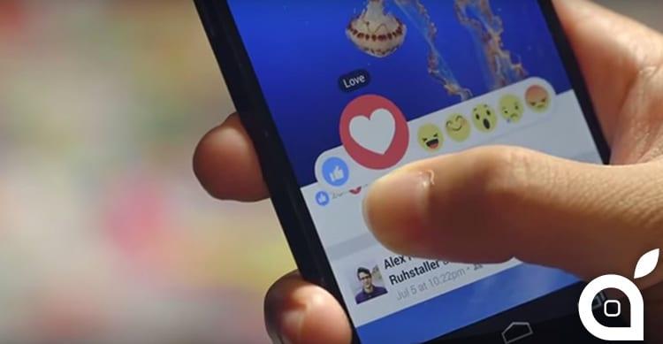 Facebook aggiungerà una nuova reazione in occasione della festa della mamma