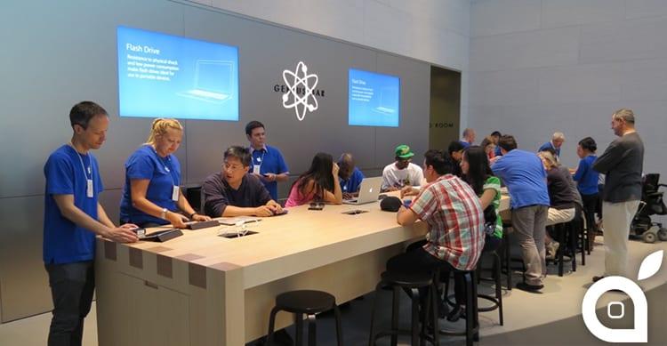 In arrivo miglioramenti negli Apple Store al servizio Genius Bar!