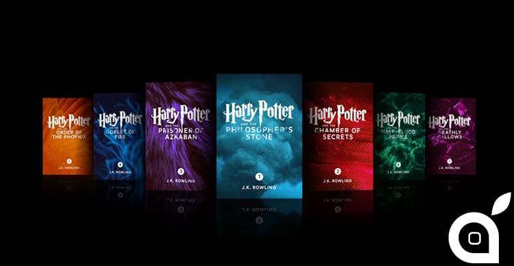 Disponibili in esclusiva su iBook Store le versioni 'enhanced' dei libri di Harry Potter