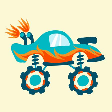 Monster Trucks for Babies, un adorabile fuoristrada per giocare con i tuoi figli | QuickApp