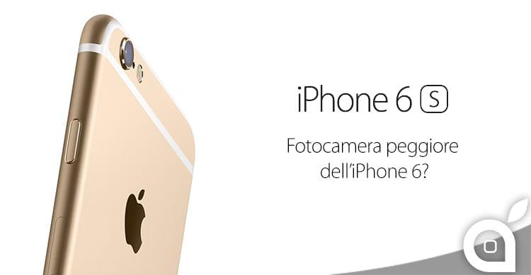 Per DxOMark la fotocamera dell'iPhone 6s è inferiore alla concorrenza ma addirittura anche ad iPhone 6