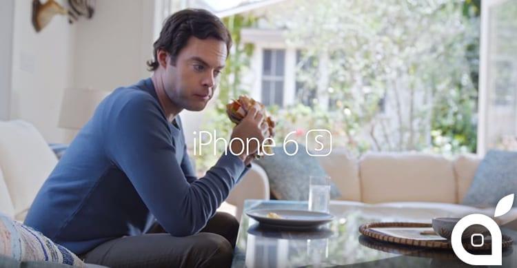 Apple pubblica un nuovo, e divertente, spot pubblicitario per l'iPhone 6s [Video]