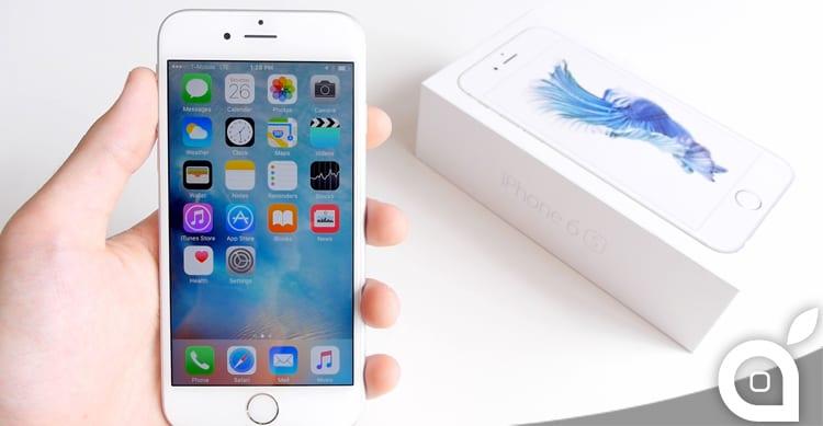 Da oggi è possibile acquistare l'iPhone 6s in USA senza SIM, da 570€