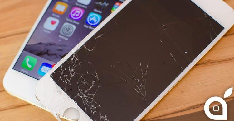 iphone broken screen display glass