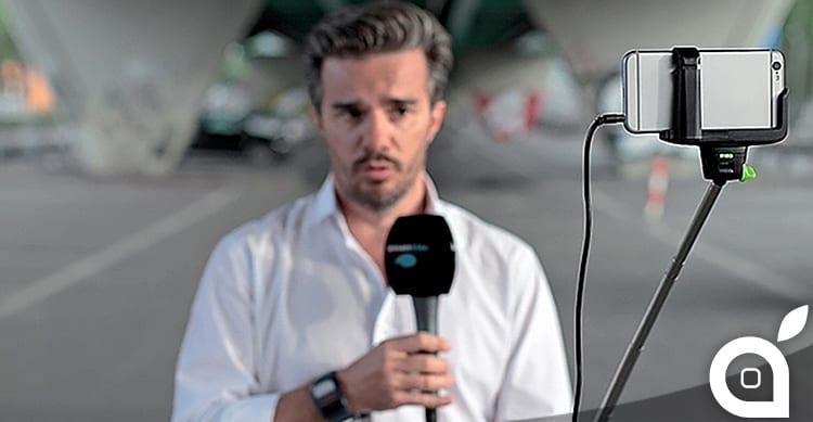 Un canale televisivo svizzero ha deciso di abbandonare le telecamere ed utilizzare soltanto l'iPhone per i suoi TG