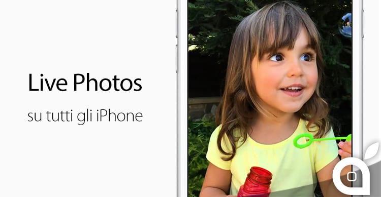 live photos su tutti gli iphone cydia