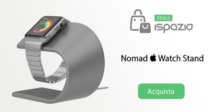 Stand per Apple Watch: ecco la soluzione di NOMAD in un solo blocco di alluminio   Recensione