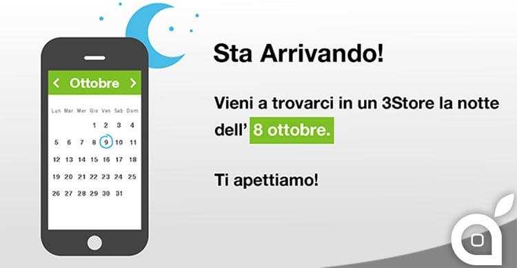 Tre Italia comunica che ci sarà la Notte Bianca per acquistare l'iPhone 6s! Ecco i punti vendita aderenti