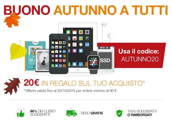 BuyDifferent regala buoni da 20 euro per acquistare iPhone, iPad, Watch, upgrade Mac e videocorsi