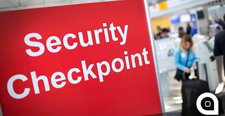 sicurezza aeroporti batterie