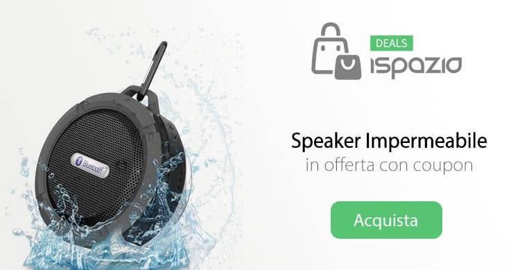 speaker bluetooth impermeabile deals ispazio