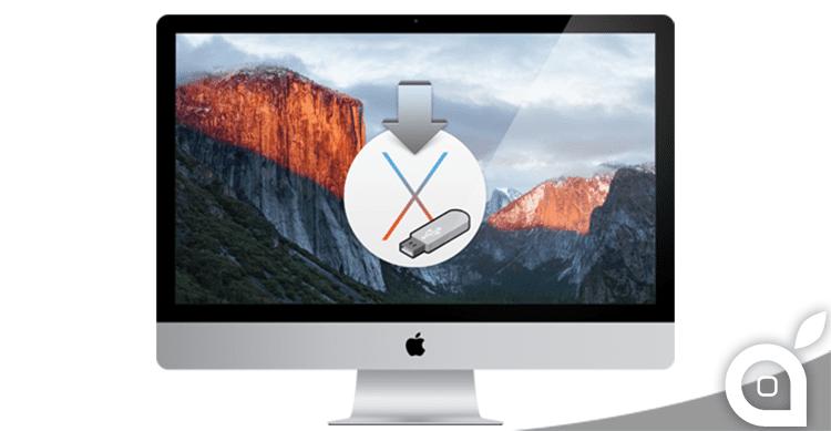 Come installare OS X El Capitan in maniera pulita da una penna USB | Guida