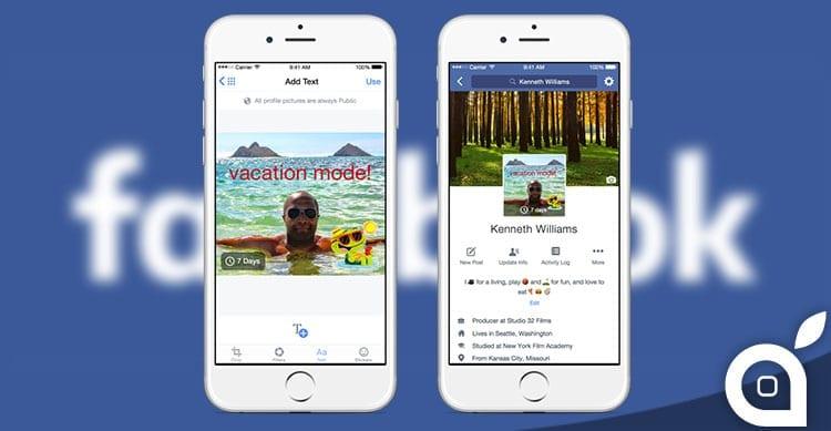 Gli utenti Facebook possono usare ora video di 7 secondi come immagine profilo [Video]
