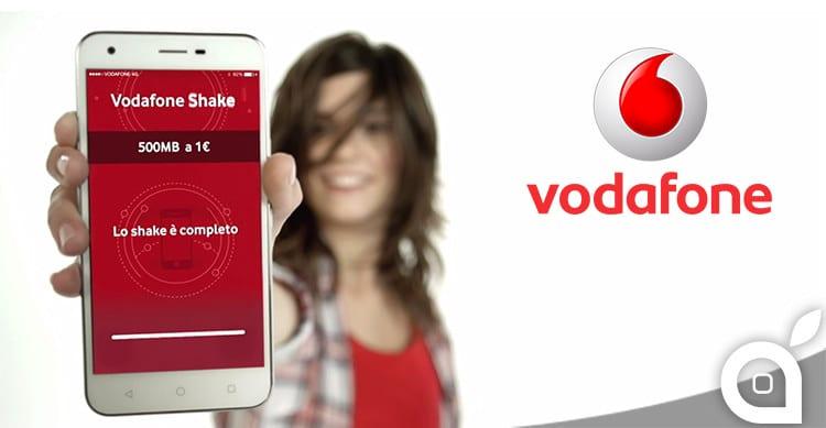Vodafone lancia SHAKE: continui a navigare anche quando finisci il traffico