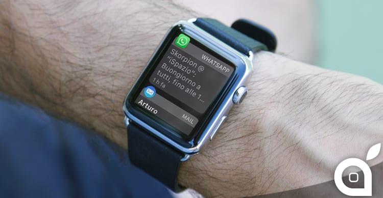 apple watch notifiche rotonde quadrate