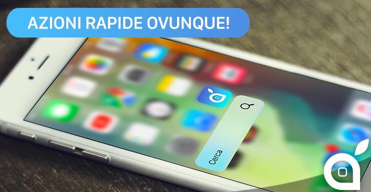 Come utilizzare Traverse per creare Azioni Rapide sulle icone di tutte le applicazioni iOS | GUIDA ISPAZIO
